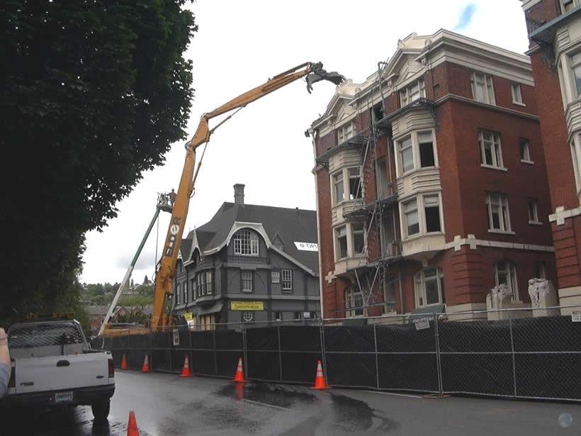 Building Demolition Portland : Elder demolition in portland oregon